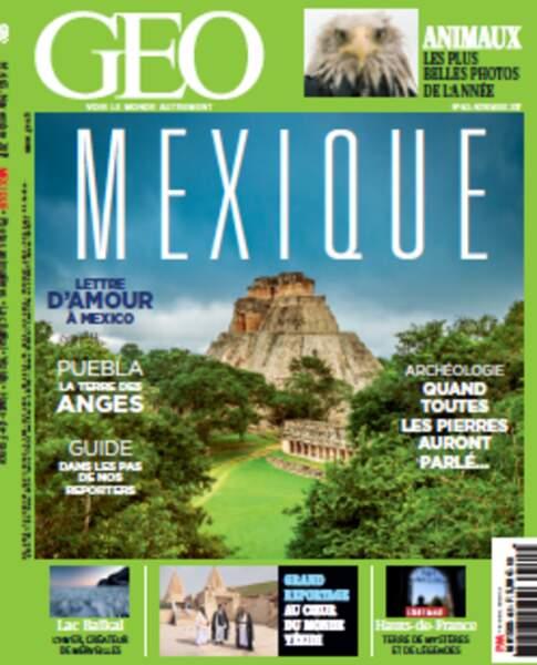 A voir dans le magazine GEO de novembre (n°465, Mexique), en kiosque le 25 octobre 2017