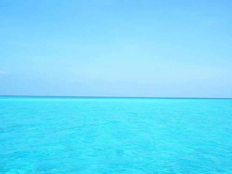 Horizon turquoise aux Bahamas