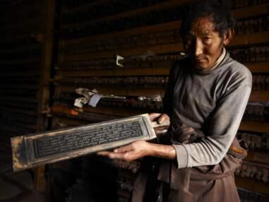 Au Tibet, chez les imprimeurs du toit du monde
