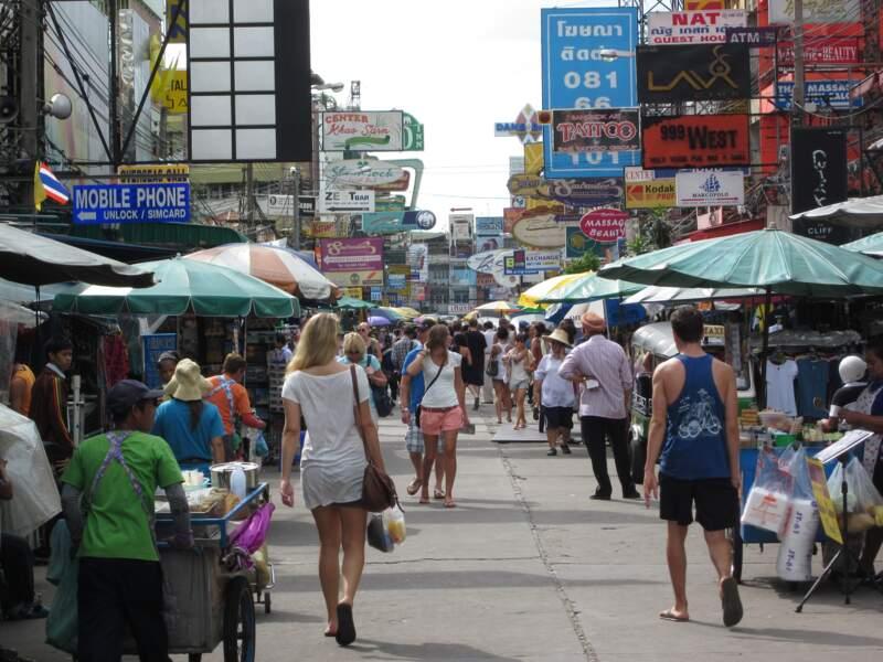 Khao San Road, pour les escapades nocturnes