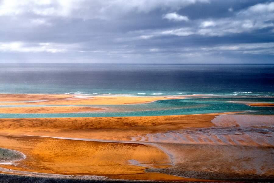 Une plage digne des tropiques...