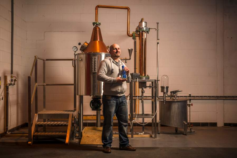 Distillerie sur l'île d'Unst