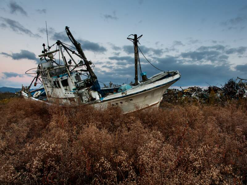 Le port de Namie a été éradiqué