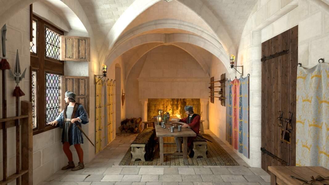 Amboise : la salle des gardes