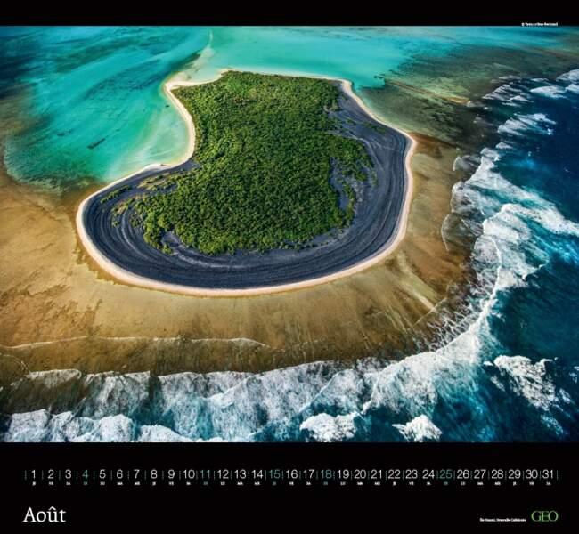 Îlot Nuami, atoll de Nokan Nouvelle-Calédonie