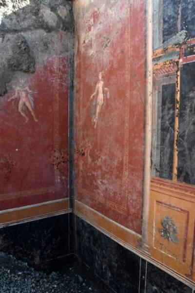 Des murs richement décorés