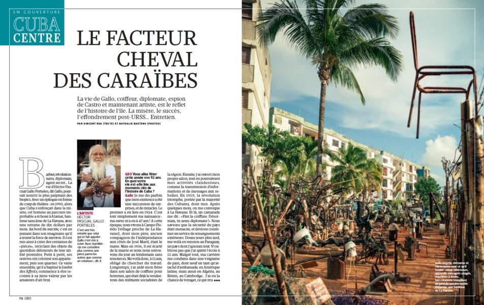 EN COUVERTURE - Cuba : Le facteur cheval des Caraïbes