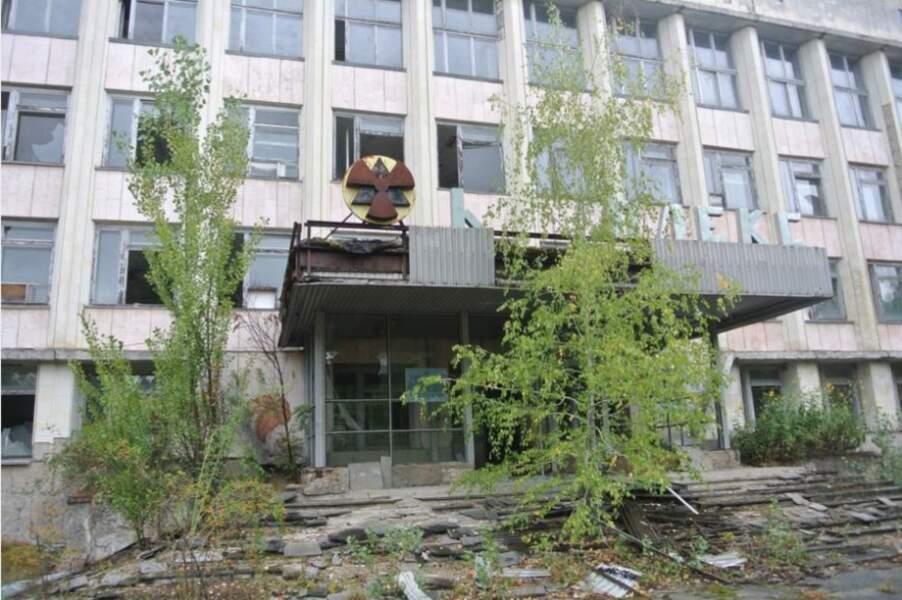 La zone d'exclusion de Tchernobyl, Ukraine