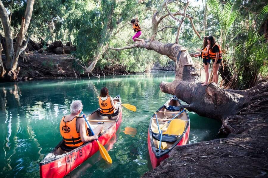 Près de la source, une eau encore vive enchante les amoureux de plein air