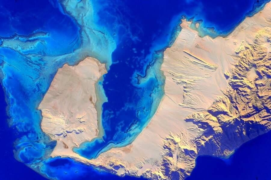 Ile de Tiran, en Egypte