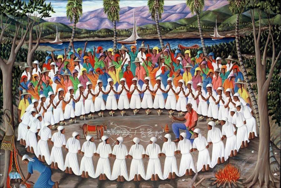 Fin XVIIIe, le vaudou galvanise les esclaves haïtiens