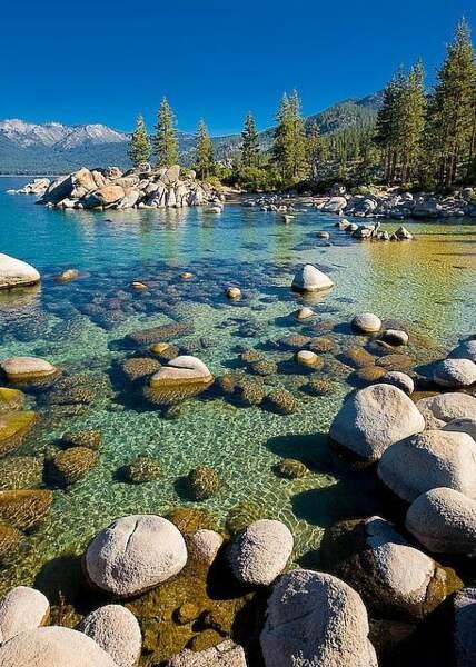Lake Tahoe, en Californie et au Nevada