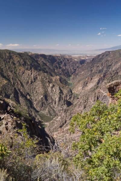 Le canyon noir de Gunnison