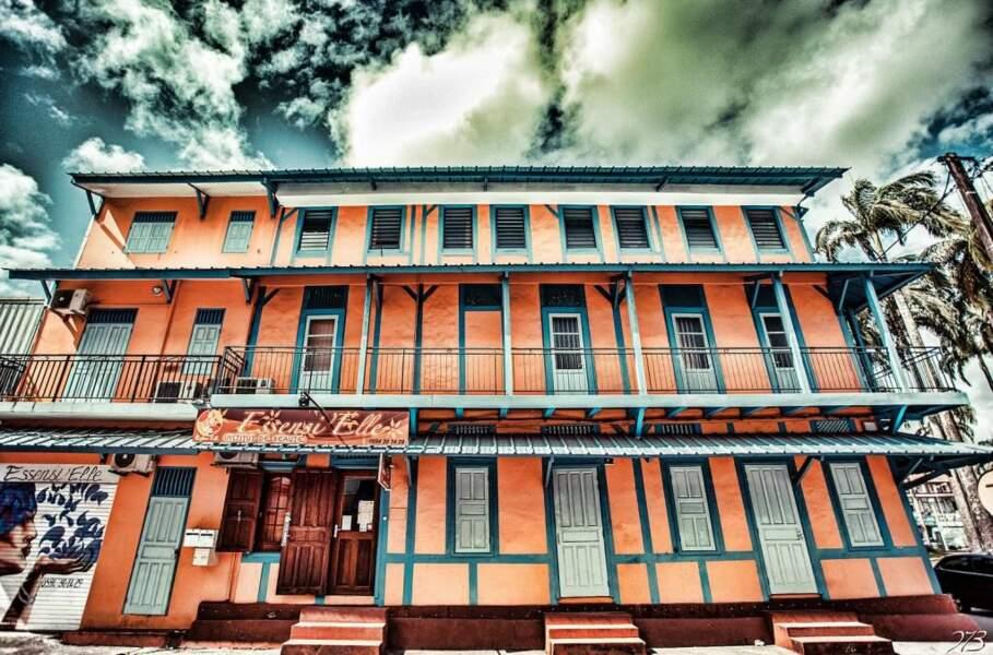 Maison créole rénovée à Cayenne