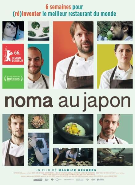 Noma au Japon, un film de Maurice Dekkers en salle à partir du 26 avril 2017