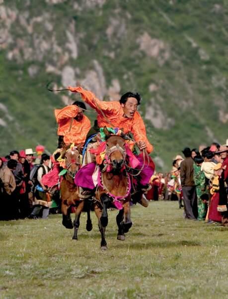 Cavaliers du toit du monde, Tibet, 2004