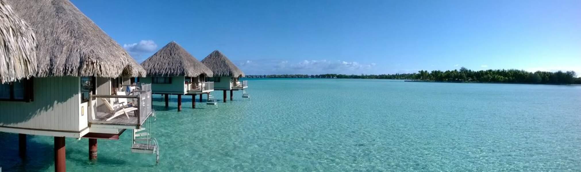 Paradis sur pilotis à Bora Bora, en Polynésie française