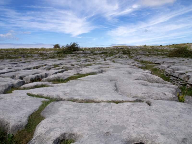 Respirer l'air du Burren, dans le Clare
