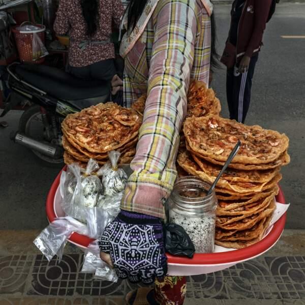 Du pain aux crevettes
