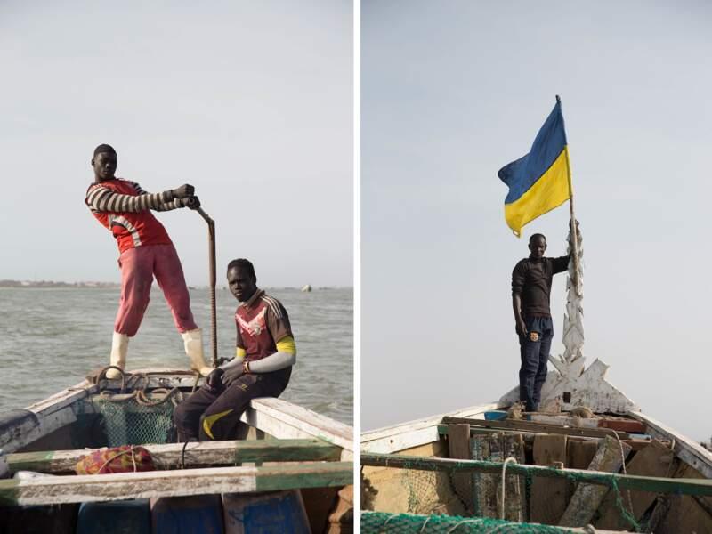 Jeunes pêcheurs saint-louisiens