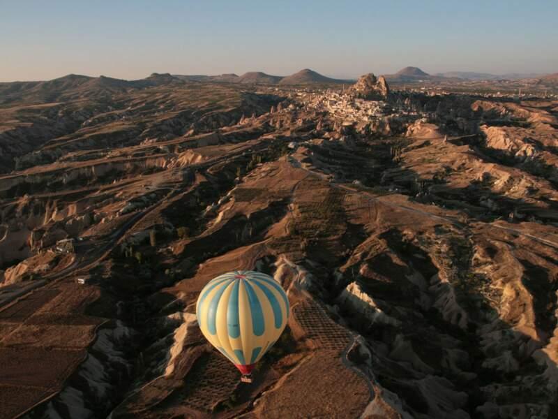 Diaporama n°4 : Promenade céleste au dessus de la Cappadoce