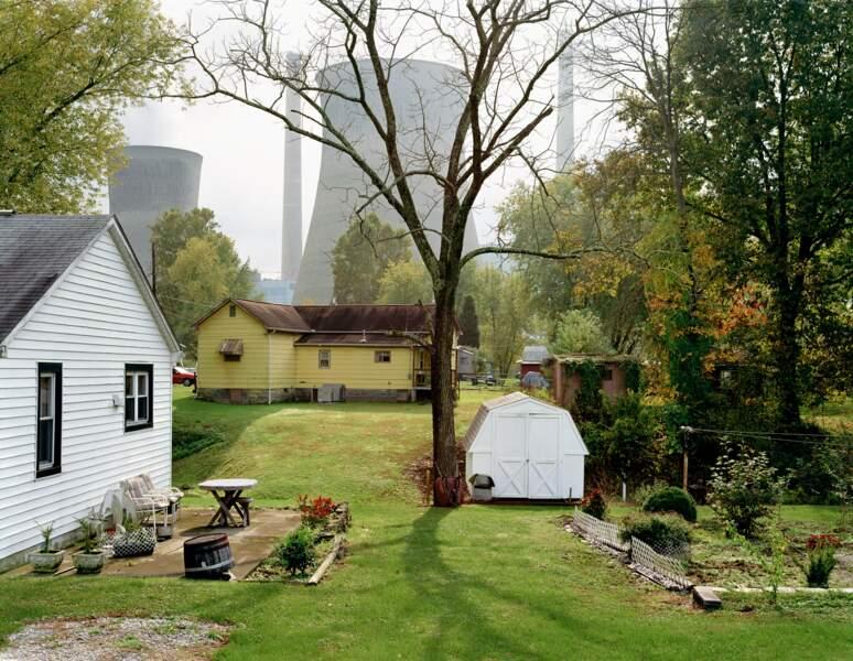 "Centrale à charbon de John E. Amos, Raymond City, Virginie-Occidentale, série ""American Power"", 2006-07"