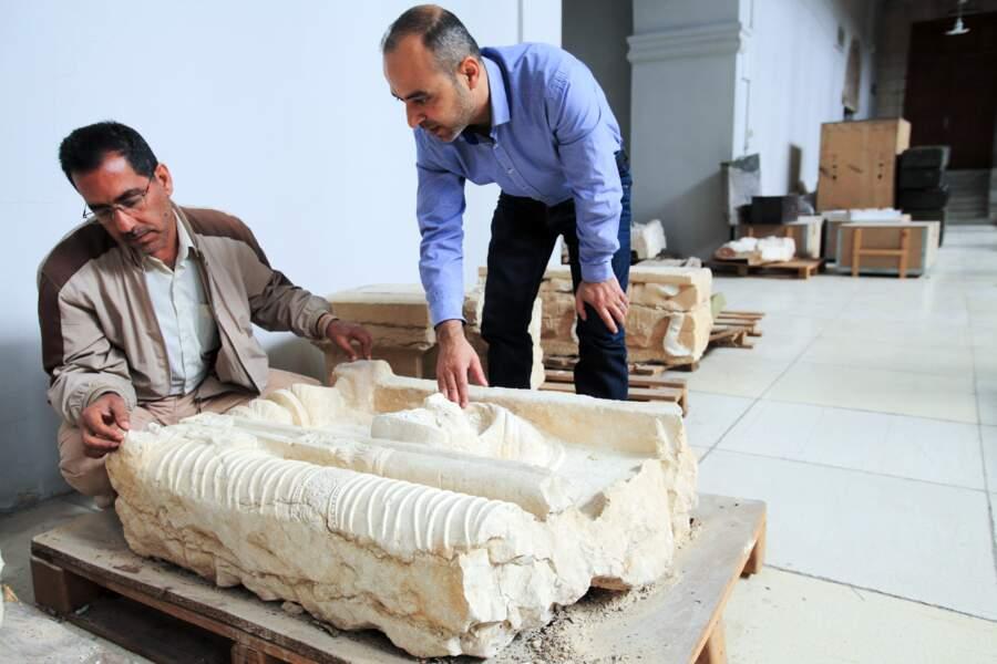 Bas-relief de Palmyre sauvé des saccages