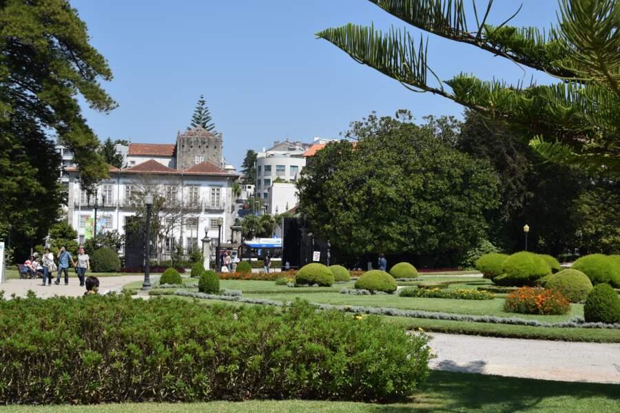 Le jardin du palais de Cristal