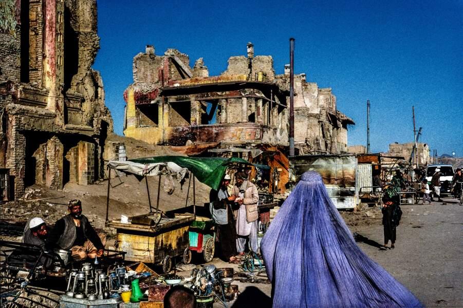 Dans les ruines de Kaboul