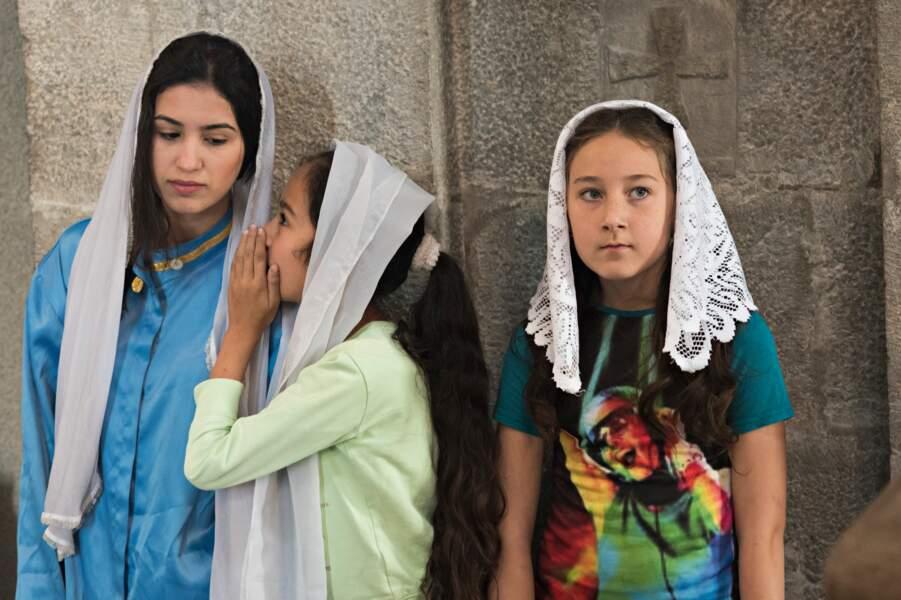 Jeunes filles en chœur