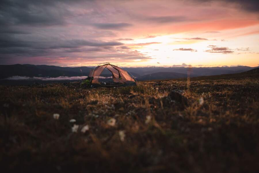 Taylor Mountain, en Alaska, aux Etats-Unis