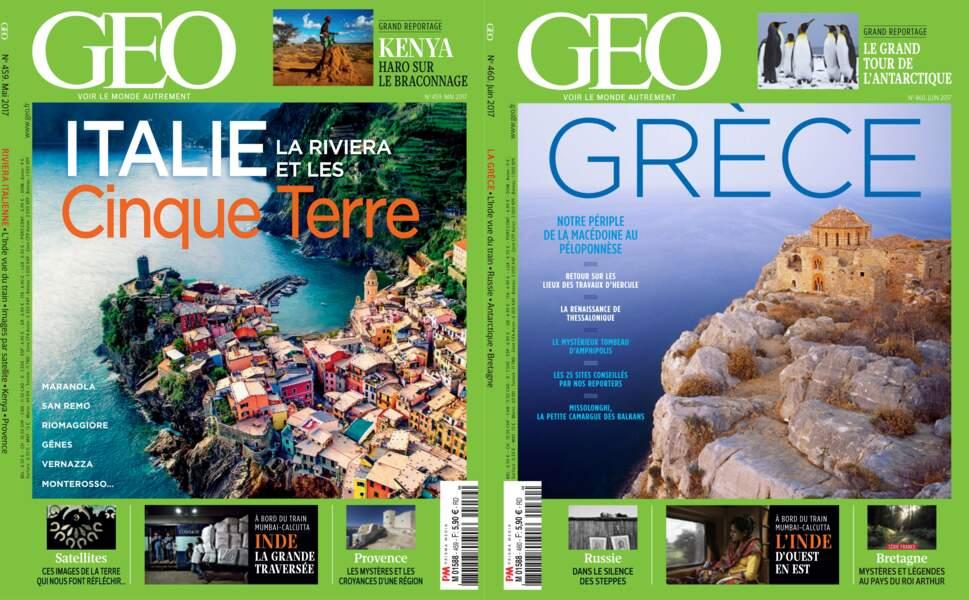 Retrouvez l'intégralité du reportage dans les magazines GEO n°459 (mai 2017) et n°460 (juin 2017)