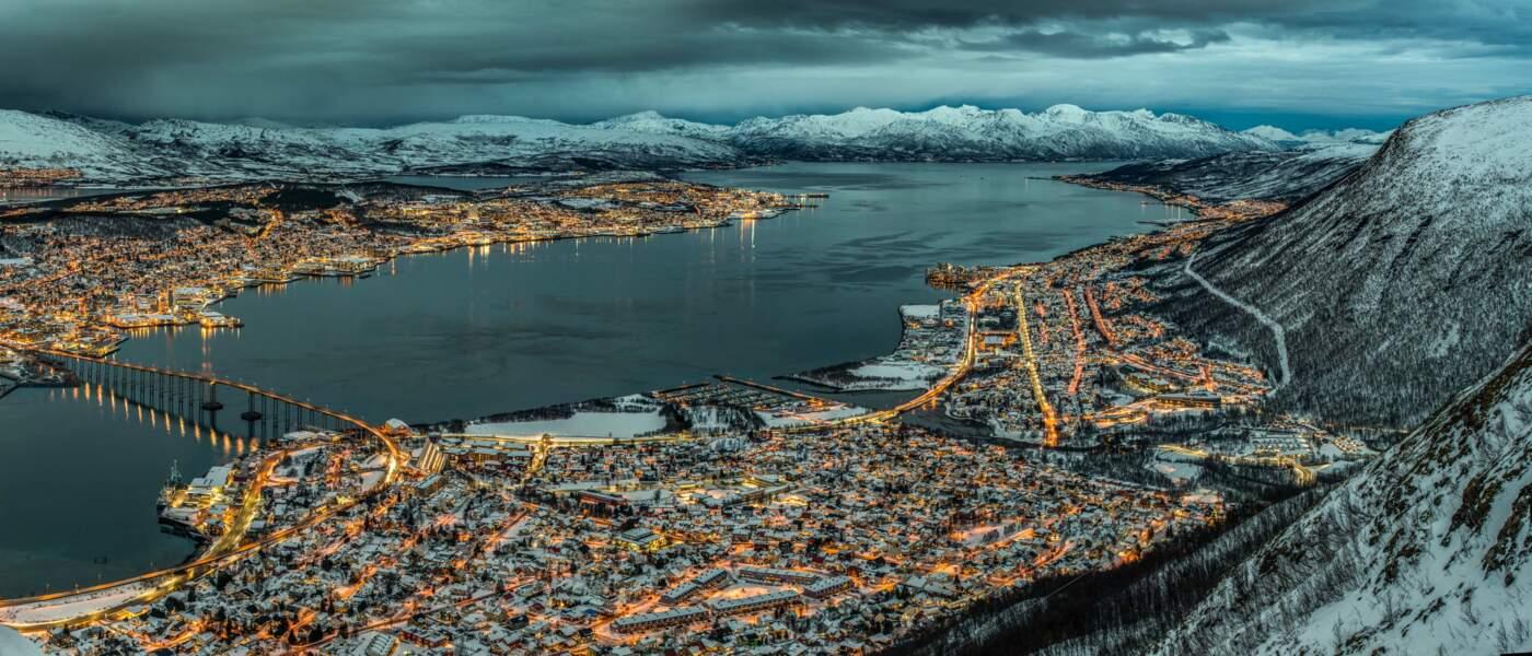 Tromsø, en Norvège, juste avant Noël