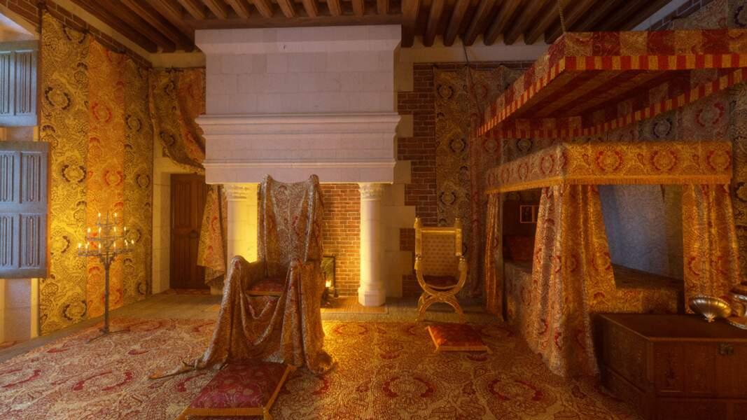 Blois : la chambre de Jeanne de Castille