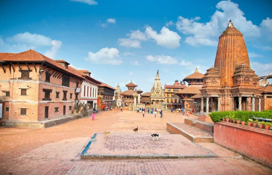 Sillonner la ville atypique et paysanne de Bhaktapur