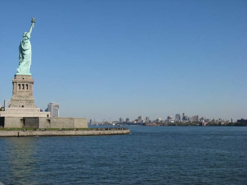 La Statue de la Liberté, à New York, aux Etats-Unis