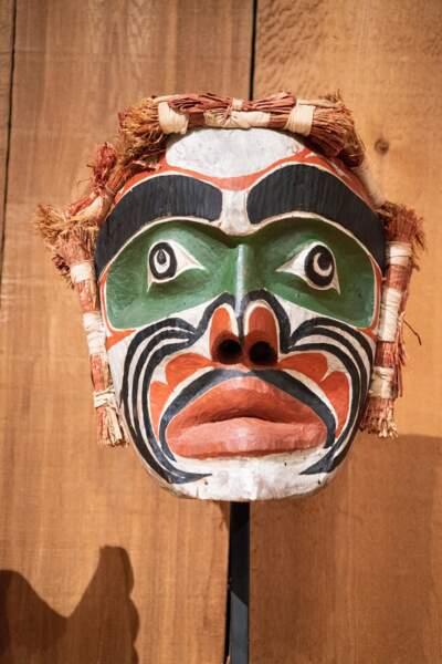 Le masque de l'esprit de l'ancêtre
