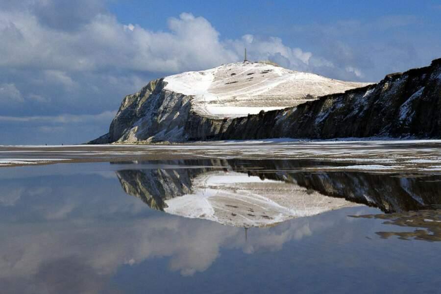 Le Cap Blanc-Nez, dans le Pas-de-Calais en France, par Yann Tierny / Communauté GEO
