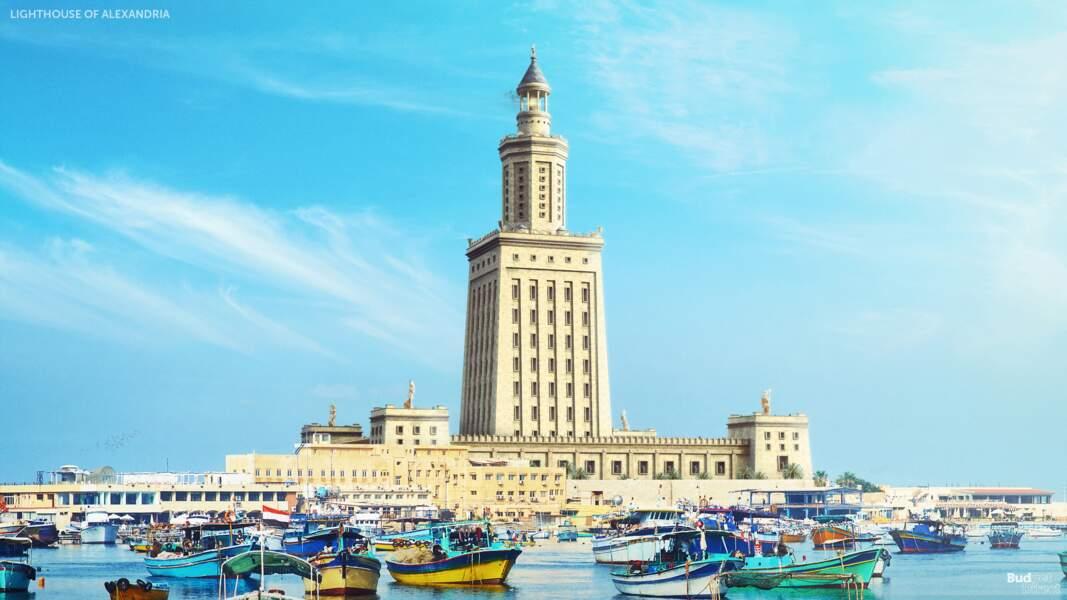 4 - Le phare d'Alexandrie