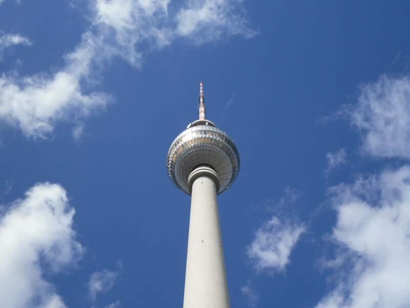 Berlin vu d'en haut, depuis la tour de télévision