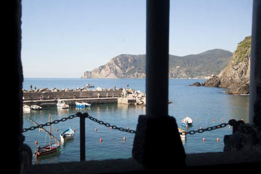 Le port de Vernazza