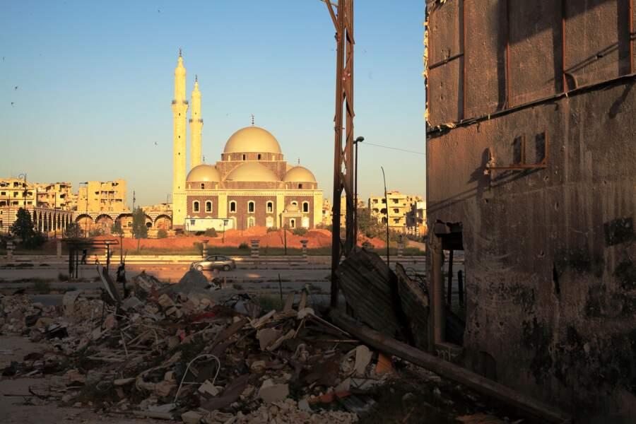 Cette mosquée de Homs est une miraculée