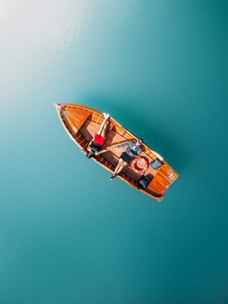 Lac de Braies, Italie