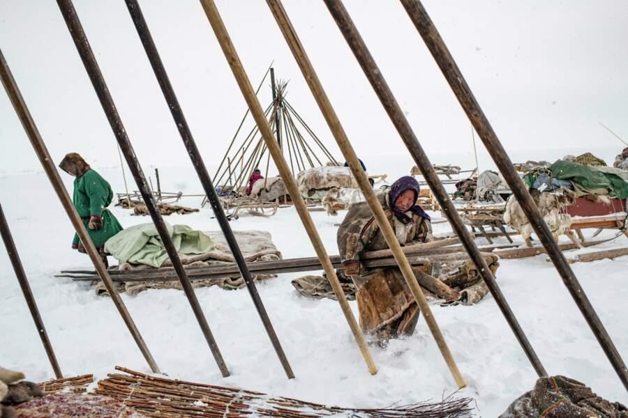 Les gazoducs, ennemis des Nenets
