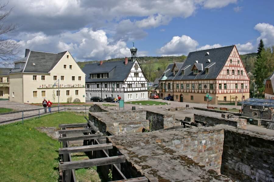 Région minière Erzgebirge/Krušnohoří, en République tchèque et en Allemagne
