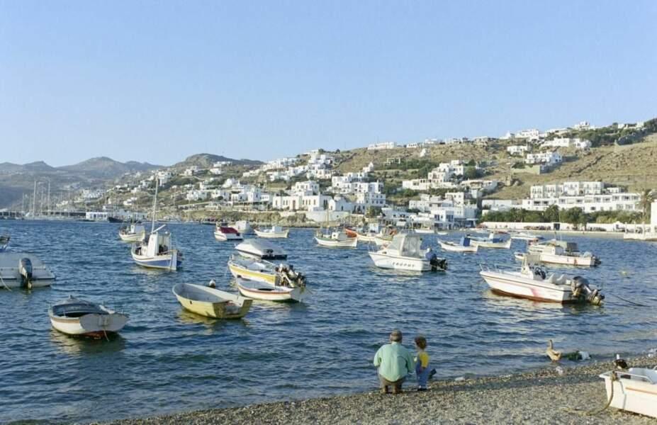 Photo prise à Chora (Grèce) par le GEOnaute : impitoyable