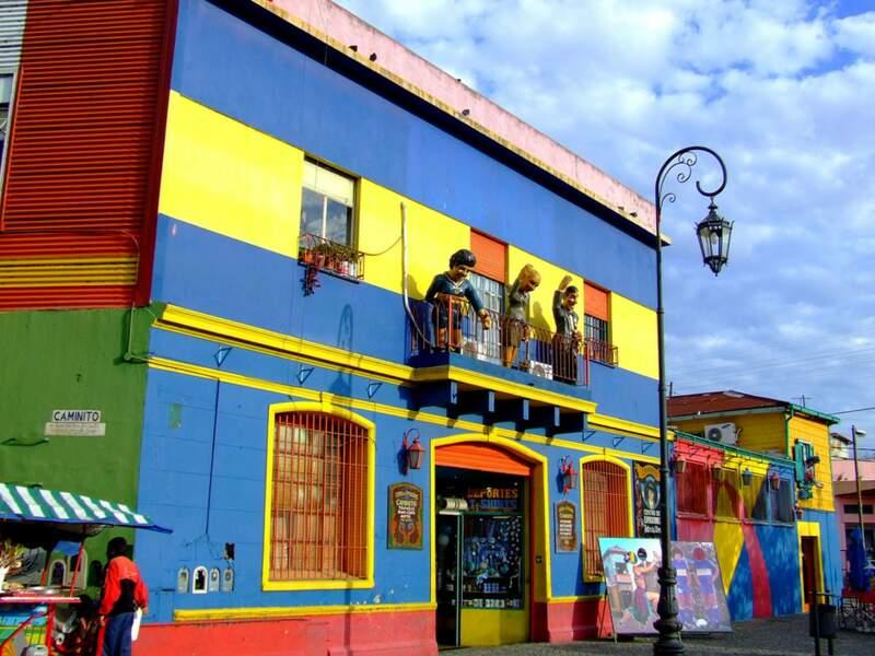 Diaporama n° 2 : Argentine : Buenos Aires, la ville festive