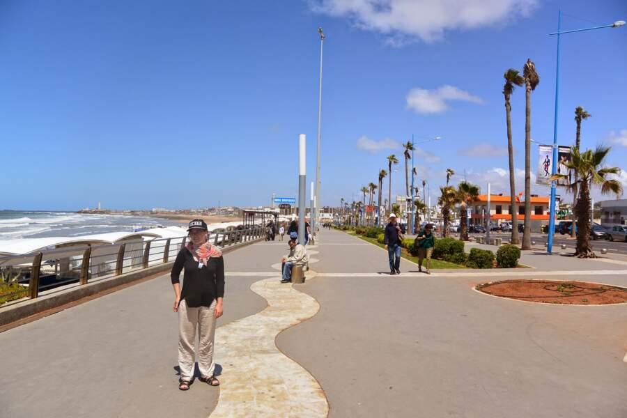 Maroc - Quartiers de Casablanca : la Corniche