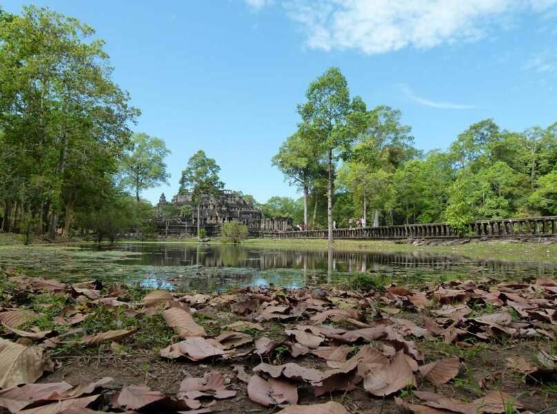 Photo prise à Angkor (Cambodge) par le GEOnaute : raphael33