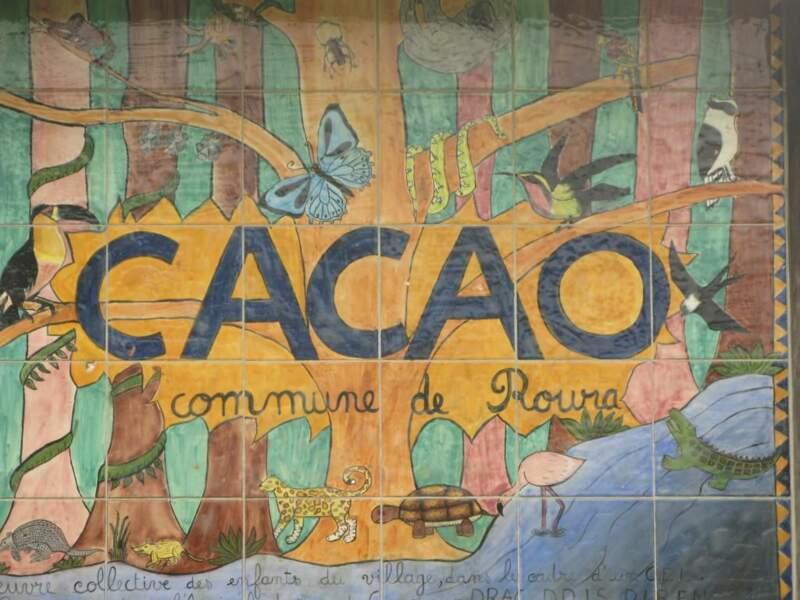 Entrée du village de Cacao